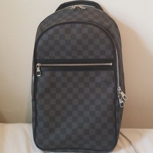 4c8772f7e6 Men Used Louis Vuitton Backpack on Poshmark